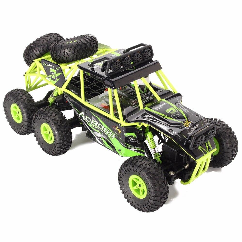 WLtoys 18628 1/18 2.4G Electric 6WD RC Racing Car Off-Road Rock Crawler Climbing Vehicle RTR ToysWLtoys 18628 1/18 2.4G Electric 6WD RC Racing Car Off-Road Rock Crawler Climbing Vehicle RTR Toys