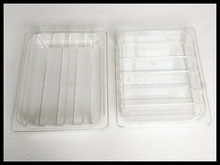 Ice Pop Tray Popsicle Display ice lolly show shelf environmentally friendly materials PV plastic