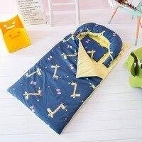 cotton Baby Cot Bedding Set Newborn Crib Quilt Pillow Baby Sleep Bag Anti kick kindergarten Quilt infant cot mattress nap mat