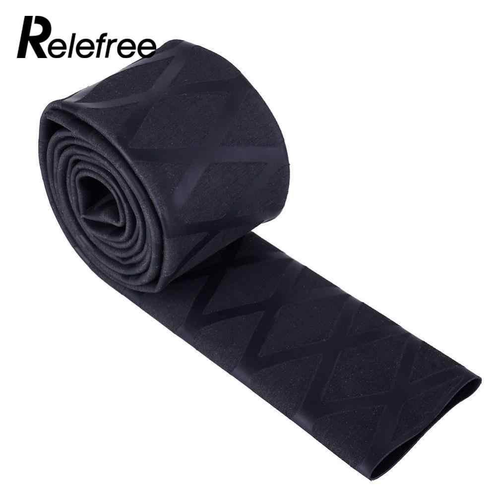 Relefree 1M Non Slip X Wrap Textured Heat Shrink Fishing Rod Tube Racket Sleeving Handle