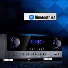 Kaolanhon 800W 220V 2.0 wysokiej zasilanie solarne do użytku domowego wzmacniacz audio wzmacniacz bluetooth profesjonalny etap KTV wzmacniacz audio G5 AK390