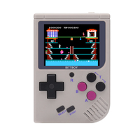 New BittBoy NES/GBC/GB Retro Handheld Save/Load Game Console Progress MicroSD card External
