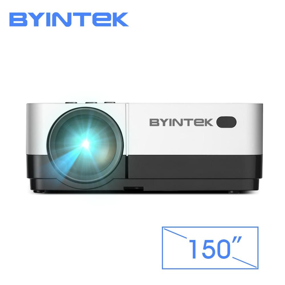 BYINTEK CIELO K7 1280x720 HA CONDOTTO il Mini Micro Portatile Video Proiettore Del HD con HDMI USB Per Il Gioco di Film 1080 P Cinema Home Theater