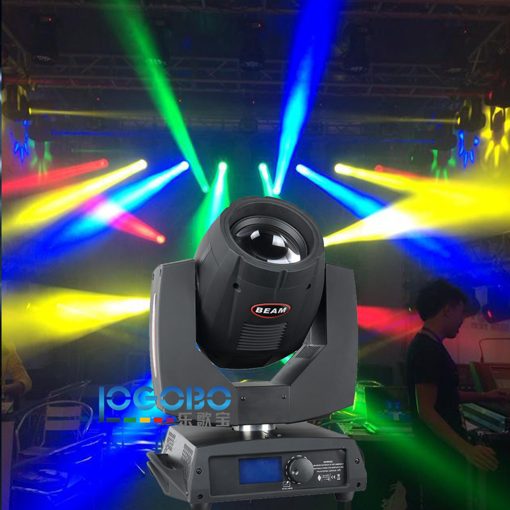 Sharpy Beam 200W Light 5R Moving Head Stage Lighting Cdj 200 Gobo Spotlight DMX Studio TV DJ Equipment Discolicht, Free Shipping 4 pcs lot 200w moving heads beam 5r sharpy beam moving head dmx stage light disco bar dj lighting