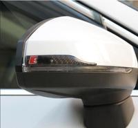 For Audi Rearview Mirror Anti collision Bar A3 A4L A6L A5 Q2L Q5 Q3 Q5L Modified Scrape proof Carbon Fiber Sheet