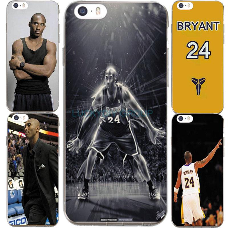For IPhone7 7Plus 4 5S SE 6 6S Case For NBA Super Star Kobe Bryant 24