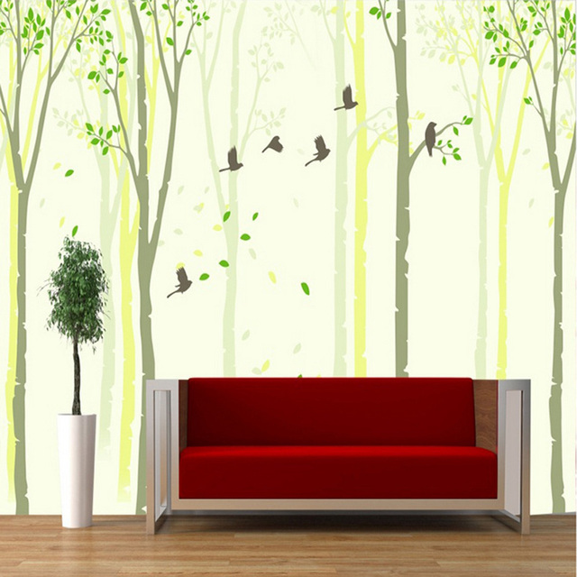 Exceptional Sketch Nature U0026 Animal Dancing Butterfly By Tree Cartoon Wallpaper Wall 3d  Mural Rolls Hotel Livingroom Part 31