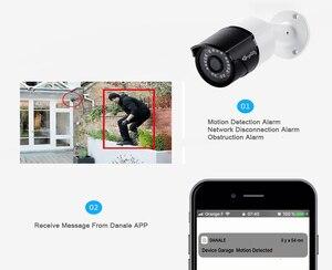 Image 5 - Kingkonghome IP カメラ 1080P POE 金属 IP カメラ ONVIF 屋外防犯カメラのナイトビジョン CCTV 防水屋外弾丸カム