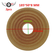 I KEY BUY 2 PCS 185 MM 50 8 Speaker Spring Pads Spider Cloth Damper Repair Accessories