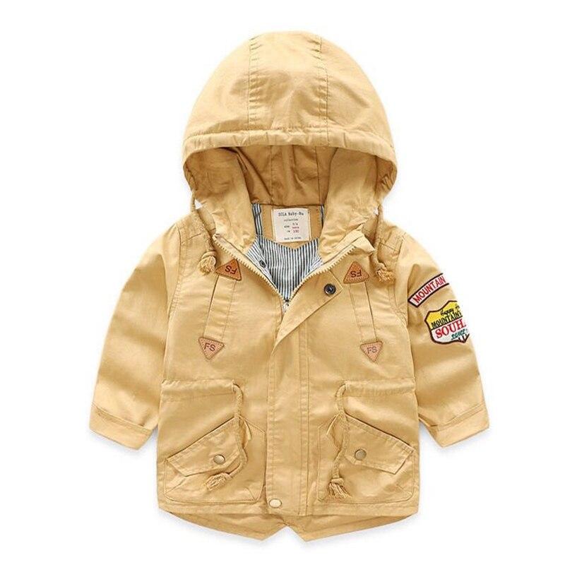 Bahar Payız Ceket Boys Uşaqlar Uşaq paltarı Pambıq üçün uşaq - Uşaq geyimləri - Fotoqrafiya 2