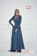 Zahra Evening Gown For Muslim Women Cute Empire Maxi Floor Length Dress Islamic Wedding Abaya Dubai Abaya Kaftan Plus Size 5xl
