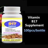 Vitamine B17 Supplement Bittere Amandel 20:1 Extract Bittere Abrikoos Zaad, anti-Kanker Beschermen Hart Verminderen Bloedsuiker en Lipiden