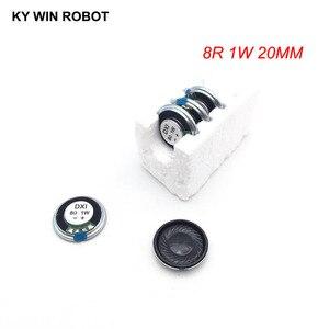 Image 1 - 5 adet/grup Yeni Ultra ince Mini hoparlör 8 ohm 1 watt 1 W 8R hoparlör Çapı 20 MM 2 CM kalınlığı 4 MM