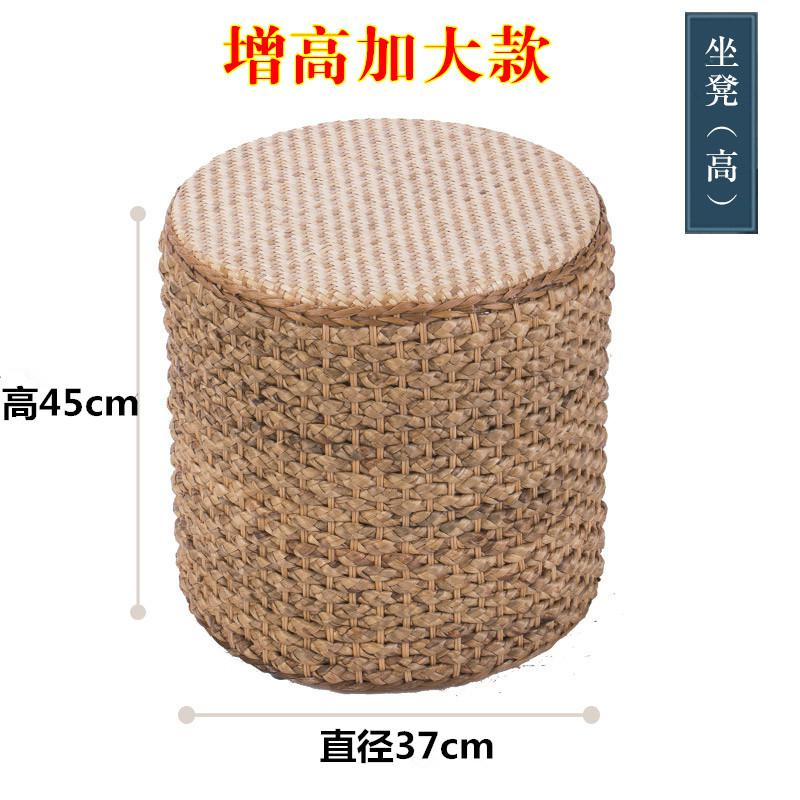Fantastic Us 54 1 20 Off Rattan Balcony Stool Creative Sofa Stool Grass Bench Coffee Table Stool Chair In Stools Ottomans From Furniture On Aliexpress Ibusinesslaw Wood Chair Design Ideas Ibusinesslaworg