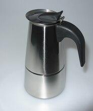 2/4/6/9/12 bardak Yüksek kaliteli Moka kahve makinesi/moka pot, espresso cezve paslanmaz çelik moka kahve makinesi YH101