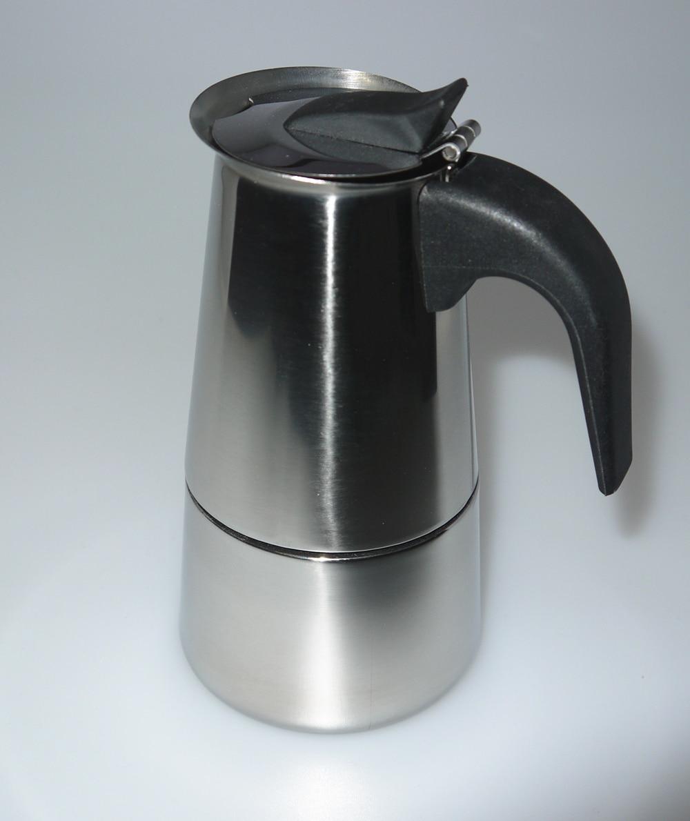 2 Pot Coffee Maker Home : 2/4/6/9/12 cups High quality Moka coffee maker/moka pot,Espresso coffee pot stainless steel moka ...