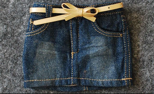 BJD Jeans Skirt for 1/4 MSD 1/3,SD10/SD13 SD16,IP EID,Luts,DOD ,AS,DZ Doll Clothes Customized CWB62