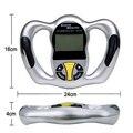 Monitores de Grasa corporal de Mano Pantalla LCD detector de IMC analizador de Grasa instrumento de medida de la pérdida de peso Cuidado de La Salud