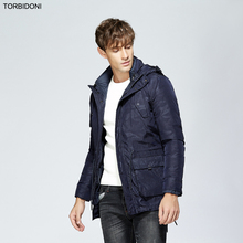 Parka Men Brand New Winter Jacket Two Pieces Suit Male Warm Thicken Coat High Quality Cotton-Padded Fashion Parkas Business