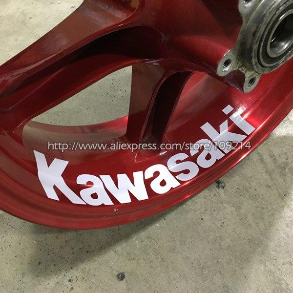 Kawasaki ZX-6R ZX-9R ZX-10R ZX-12R Z1000 Z800 Z750 636 Motorcycle Wheel Sticker Decal Reflective Rim Bike Motorcycle Suitable мото обвесы oem 10 kawasaki zx 9r zx 12r zx 10r zx 12r