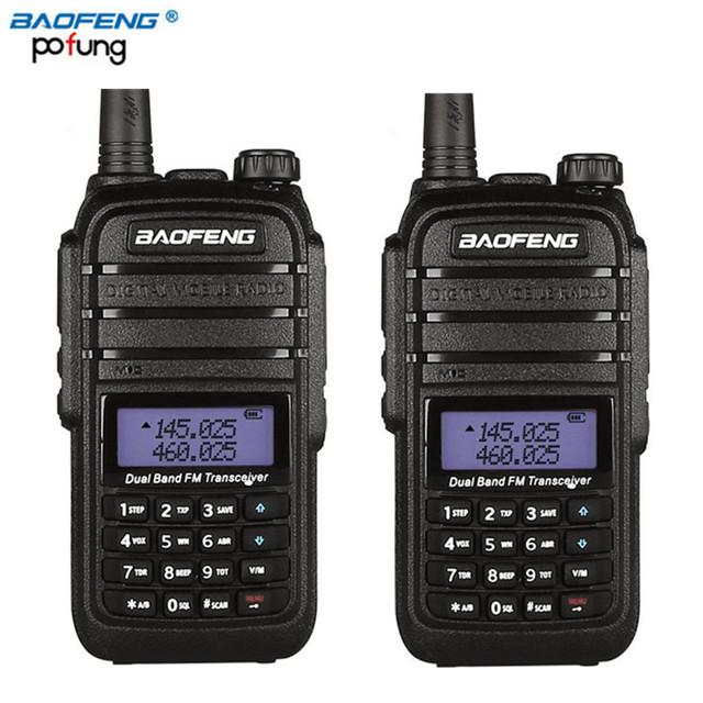 Pcs Baofeng UV B Talkie Walkie Km Longue Portée Haute - Talkie walkie longue portée