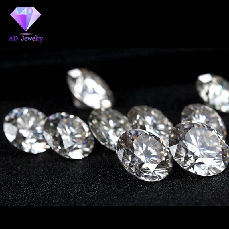 6.5mm DEF Coeur et Flèches Cut Blanc Moissanite Pierre Moissanite Diamant 1 carat