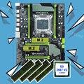 On sale brand motherboard with dual M.2 slot HUANANZHI X79 Pro motherboard bundle CPU Intel Xeon E5 2667 V2 RAM 32G(4*8G) RECC