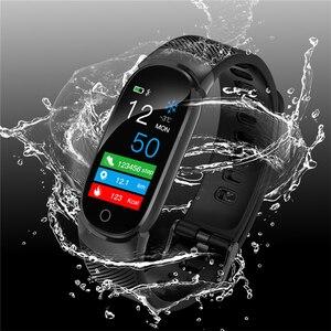 Image 5 - FROMPRO スマート腕時計メンズレディースアウトドアスポーツフィットネスブレスレット心拍数モニター血圧酸素健康スマートバンド QW16