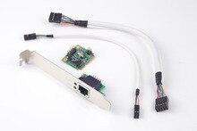 Syba mini pcie для 1 портовый гигабитный сетевой карты сетевой адаптер 10/100/1000 м для сервера