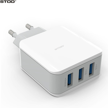 BTOD 3 Port USB Travel Charger 15W Quick Device 3.1A For iPhone 5 6 6S 7 Plus iPad Samsung Huawei Nexus ASUS LG AC Wall Adapter