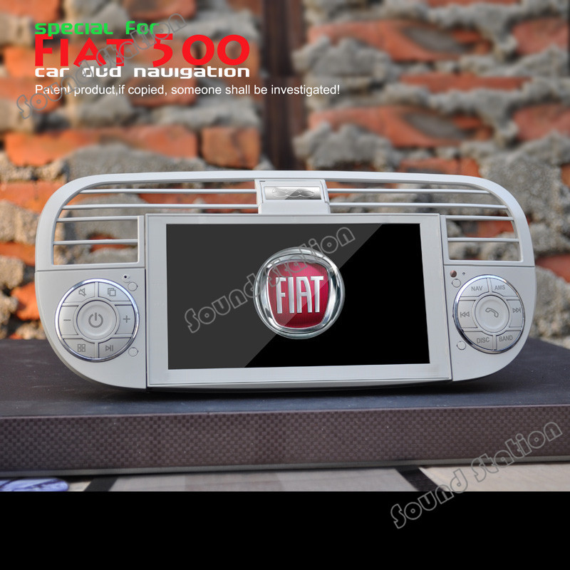 for fiat abarth 500 cinquecento infotainment headunit. Black Bedroom Furniture Sets. Home Design Ideas