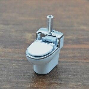 Модель мини-туалета, металлические трубки, табачные курительные трубки, Подарочная мельница, дымовая травка, шлифовальная машина, табачная труба, аксессуары для курения