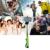 Universal wired selfie vara com 2em1 0.67x lente 5in1 min tripé marco lente grande angular para iphone 5 5s 6 plus para smartphones