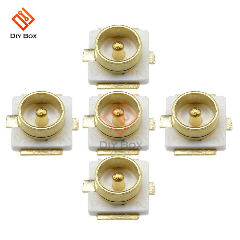 Connecteur Coaxial cms PCB prise montage | 5 pièces, IPX U.FL, connecteurs féminins, bloc dantenne siège