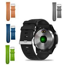 Replacement Watchband Strap for Zeblaze Vibe 3/ HR ECG Universal Wrist Watch Strap TPU Silicone