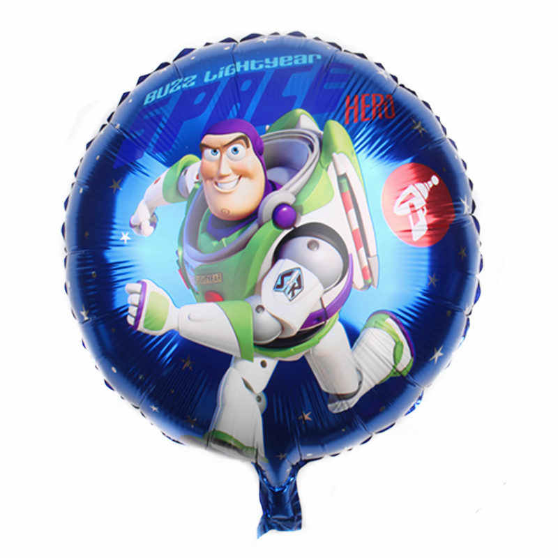 XXPWJ  New 18-inch round cartoon character aluminum balloon Children's holiday party decoration toy High quality    I-065