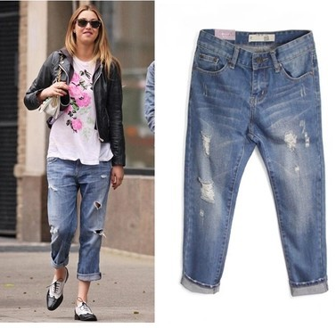 Aliexpress.com : Buy new 2016 summer jeans pant woman straight ...