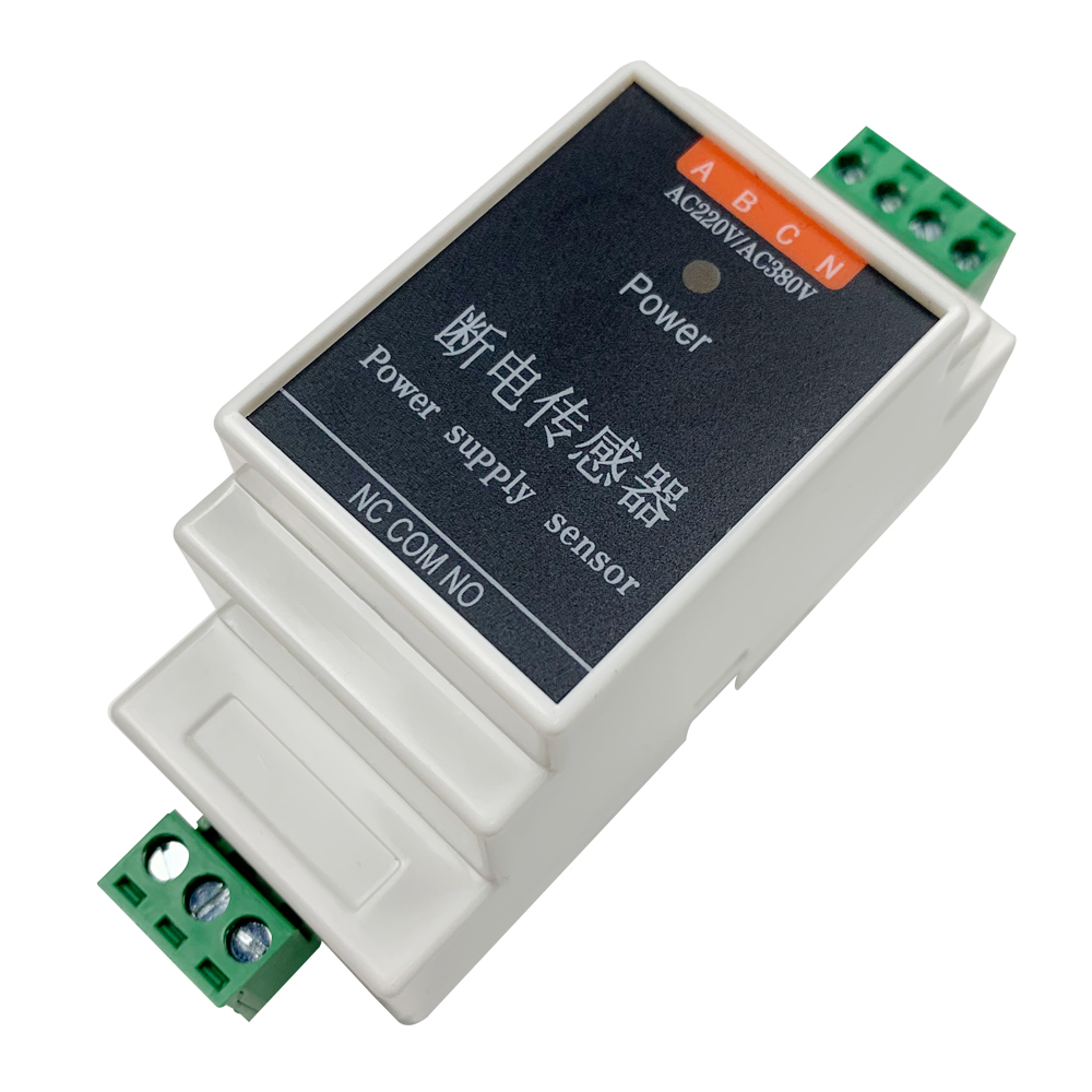 Wired Power Failure Alarm Sensor Detector AC 220v/380v Three-phase For Kc868 Smart Home Control System Mobile App Message