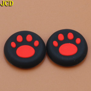 Image 5 - JCD 2pcs Silicone Analog Joystick Grips Cap for Sony PlayStation 4 for PS4 Controller Cat Claw Joystick Cover