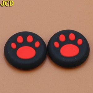 Image 5 - JCD 2pcs 실리콘 아날로그 조이스틱 그립 캡 Sony PlayStation 4 PS4 컨트롤러 고양이 클로 조이스틱 커버