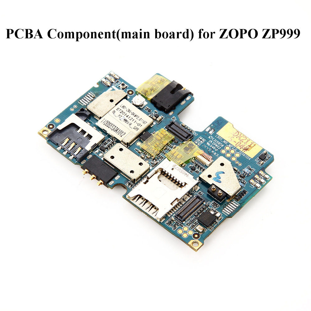 (Only ship to Spain and Portugal)PCBA Component(main board) for ZOPO ZP999 S5530A 5.5 inch Octa 3G/32G Smartphone