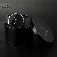 relogio masculino BOBO BIRD Men Watch Adjustable Stainless Steel Band Auto Date Wristwatches Timepieces Accept Logo V R18