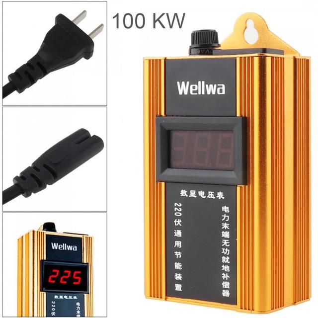 100KW di Energia Elettrica Scatola di Risparmio di 110 220V Fattore di Potenza Risparmiatore di Energia ahorrador de Bolletta elettrica Assassino Fino a 35% per la Casa di Fabbrica