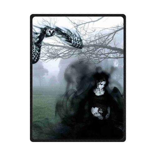 Fleece Throws Dark Gothic Blankets Size 60x80inch 50X80inch 50X60inch 40X50inch