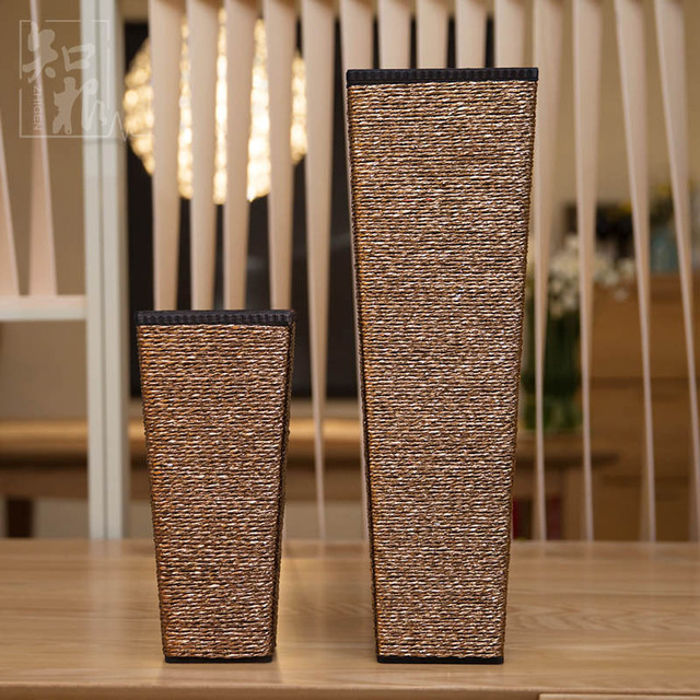 Know The Root Of Modern Fashion Furniture Vase Wooden Floor Vase