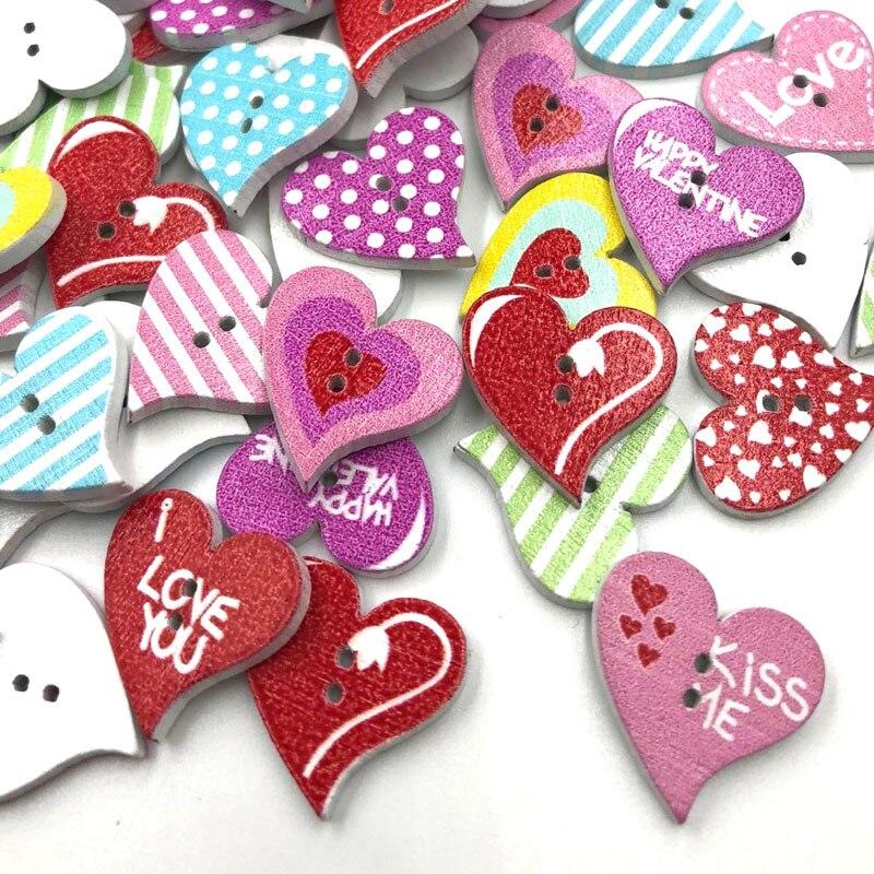 10pcs Mixed Wood Cartoon Flower Heart Flatback//Beads//Buttons Craft U Pick
