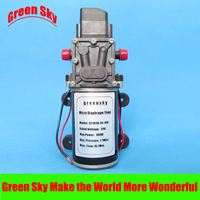 8L/Min. 24 V DC auto wassen, medische, chemische apparatuur, gazon en tuin gebruik 100 W hoge druk membraanpomp pomp automatische schakelaar
