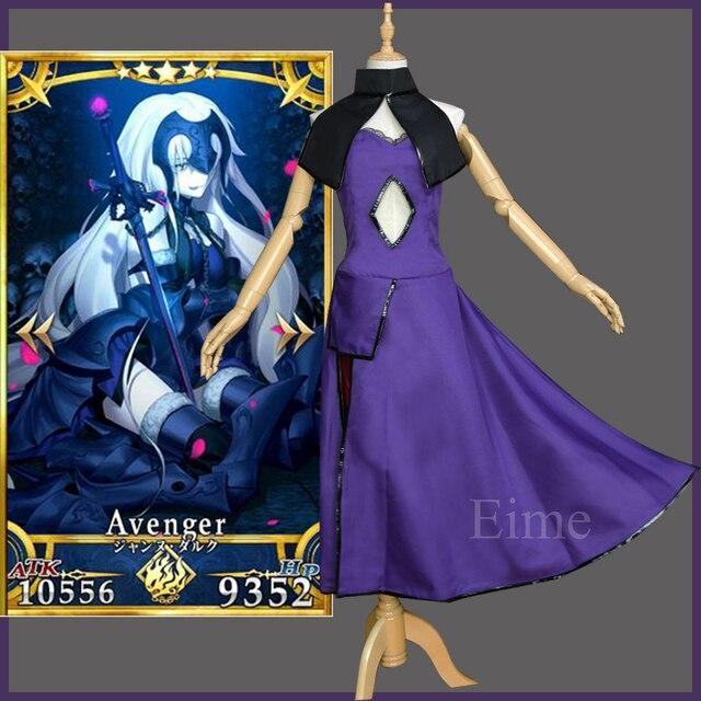 c65cd8743 Novo Jogo Japonês Destino Grande Ordem Jalter Cosplay Fate Apócrifos Jeanne  d Arc Vingador e