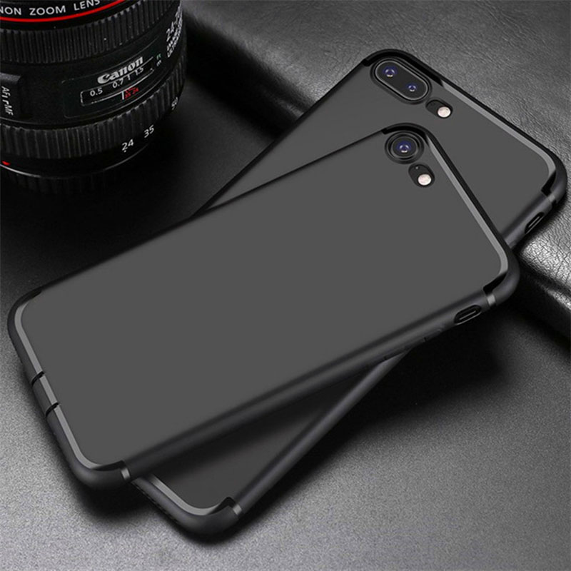 Top Quality luxury soft matte silicone Case for apple iphone 8 for iphone 7 (4.7'') for iphone 7 plus for iphone 8 plus (5.5'')