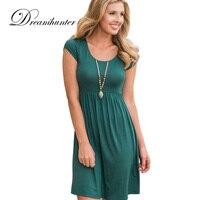 Solid Casual Long T Shirts Women Summer Short Sleeve Black Green Tee Tops O Neck Cotton